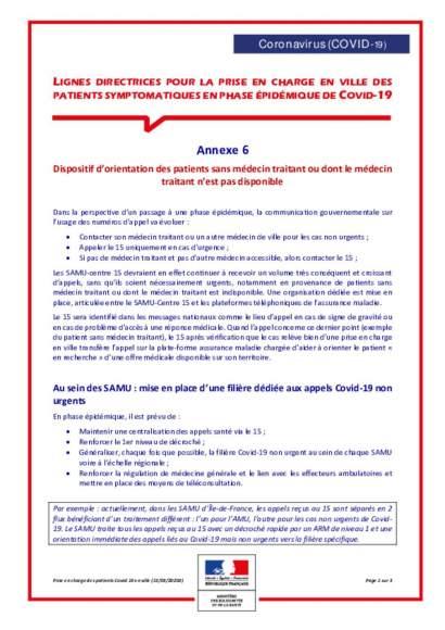 annexe 6 : patients sans MT ou non disponible