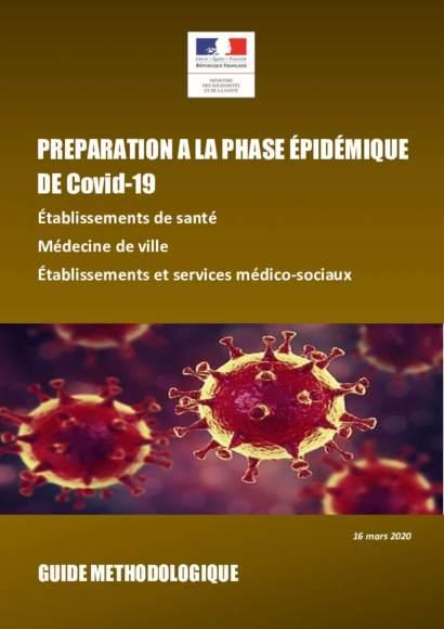 Guide covid-19 phase épidémique_Ministère de la santé