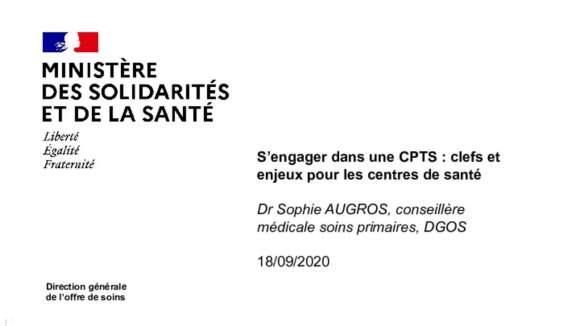 Ministère de la santé_DGOS