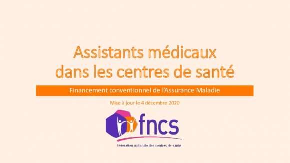 Présentation complète du recrutement d'assistants médicaux financé par l'Assurance Maladie