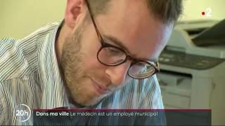 France 2 : Reportage à La Chèze : Des généralistes salariés par la commune.