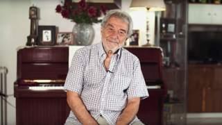 Pantelis Leousis, retired musician, Greece