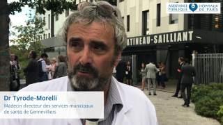 interview du Dr Tyrode-Morelli, médecin directeur du centre municipal de santé