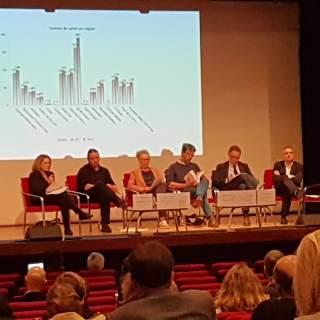Congrès des Centres de Santé 2019 - Les conférenciers à la table ronde.